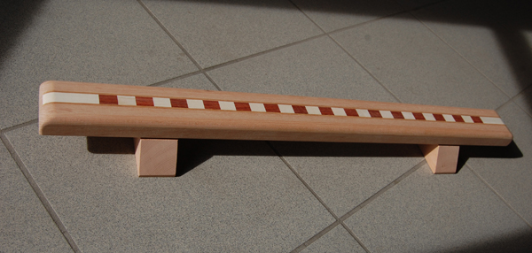 Pushup board esdoorn, padouk esdoorn woodenart push-up